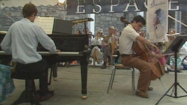 La Schubertiade de Bulle en 1988. [RTS]