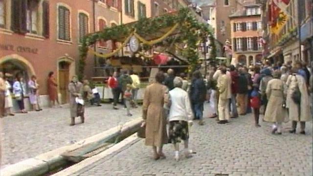 La Schubertiade de La Neuveville en 1984. [RTS]