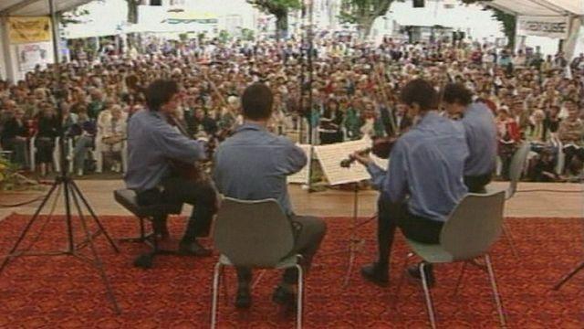 La Schubertiade de Delémont en 1998. [RTS]