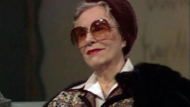 L'écrivaine Alice Rivaz en 1981. [RTS]