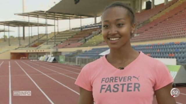 Championnats du monde d'athlétisme à Pékin: Sara Atcho est la nouvelle étoile montante des relayeuses [RTS]