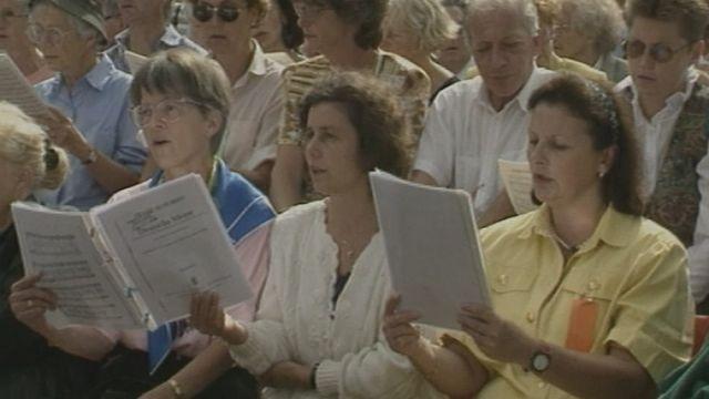 La Schubertiade de Vevey en 1994. [RTS]