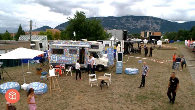 Politbox est à Plan-les -Ouates, dans le canton de Genève. [RTS]