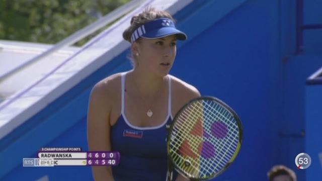 La Saint-Galloise Belinda Bencic est la nouvelle sensation du tennis helvétique [RTS]