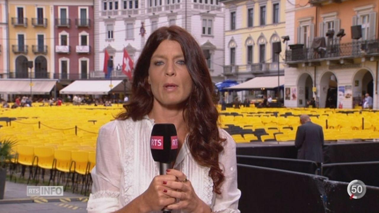 Cinéma- Palmarès du 68ème festival de Locarno: Julie Evard dresse le bilan de cette édition [RTS]