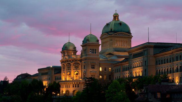Le Palais du Parlement, plus connu sous le nom de Palais fédéral. [patron74 - Fotolia]