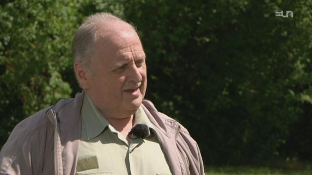 GE: rencontre avec Patrick Jacot, directeur du centre ornithologique de Genthod [RTS]