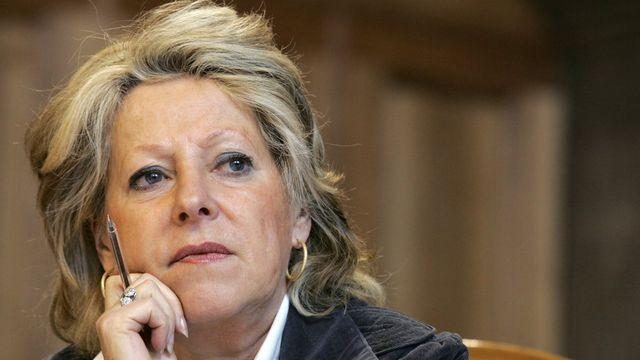 Christiane Langenberger était une figure politique du canton de Vaud. [Yoshiko Kusano - KEYSTONE]