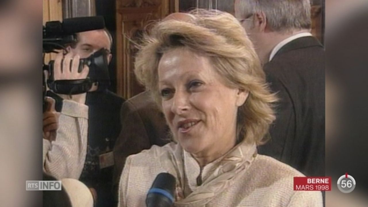 Christiane Langenberger est décédée à l'âge de 74 ans [RTS]