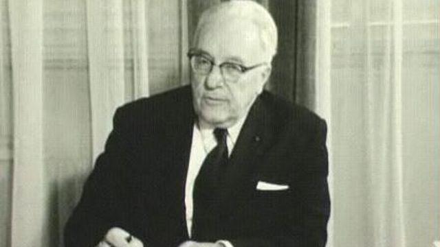 René Dovaz en 1970. [RTS]