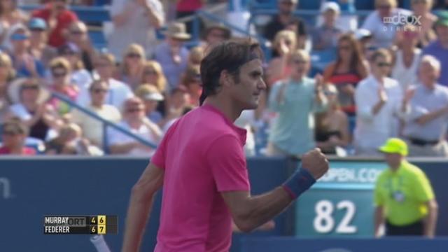 ½ finale, Murray - Federer (4-6, 6-7): Roger Federer bat Murray au tie-break et rejoint Djokovic en finale [RTS]