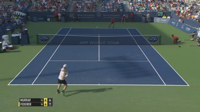 Tennis - ATP Cincinnati: Federer accède à la finale [RTS]