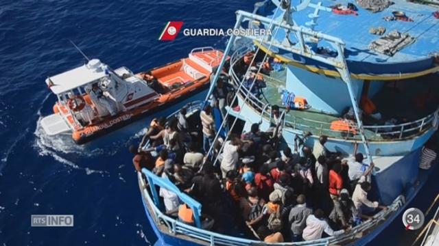 Crise des migrants: les gouvernements européens oscillent entre compassion et rigueur [RTS]