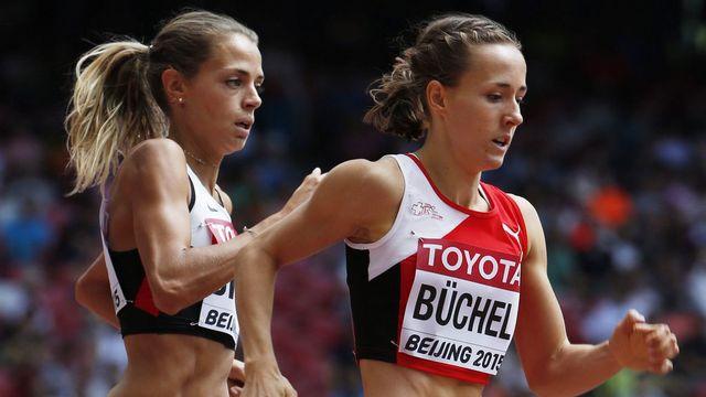 Selina Büchel est la seule chance de médaille helvétique cette année à Pékin. [Jeon Heon-Kyun - EPA/Keystone]