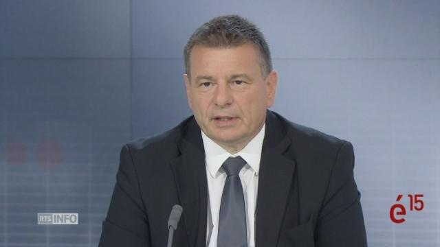 Le MCG Roger Golay a défendu un bilan fécond sur la sécurité et le social à Berne. Vrai, mais grâce à son prédécesseur Mauro Poggia. [RTS - RTS]