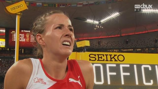 800 m F: Selina Büchel (SUI) termine 3e et se qualifie pour la finale [RTS]