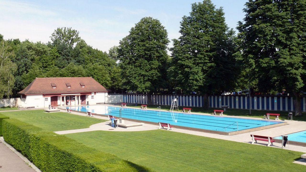 La partie féminine des bains de l'Eglisee à Bâle. [ZVG/SRF]