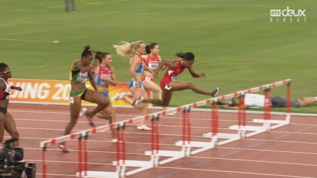 100mètres haies - demi finale -qualif suisse par resultats cette course [RTS]