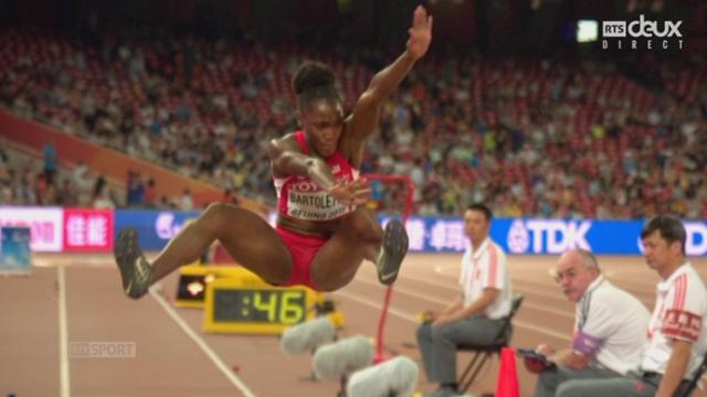 Saut en longueur F: Tianna Bartoletta (USA) remporte le titre mondial avec un saut à 7 m 14 devant Shara Proctor (GBR) et Ivana Spanovic (SRB) [RTS]