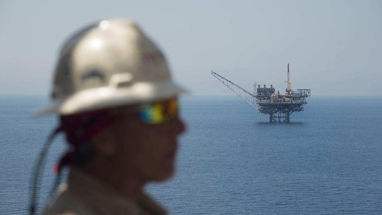 Eni détiendrait tous les droits d'exploitation sur la zone. Image d'illustration d'une plateforme gazière dans la méditerranée. [AFP]