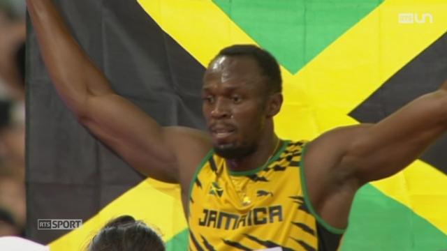 Athlétisme: Usain Bolt a été sans surprise la grande star des championnats du monde de Pékin [RTS]