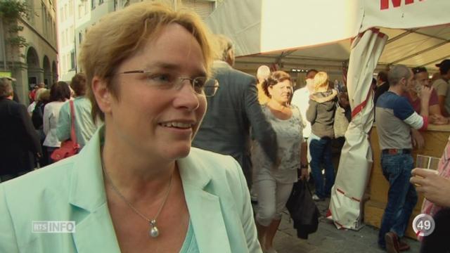 GR - Elections fédérales: la Zurichoise Magdalena Martullo-Blocher est candidate de la section grisonne de l'UDC [RTS]