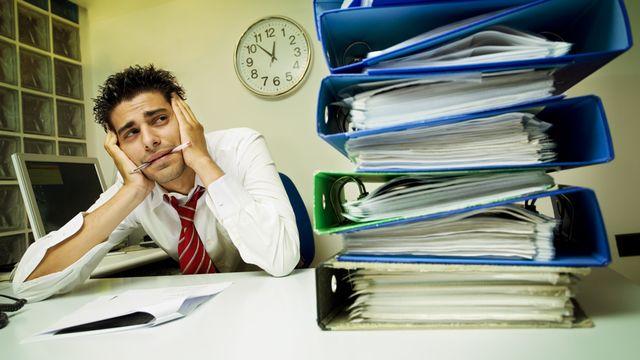 Un stress chronique et prolongé peut progresser en épuisement professionnel. diego cervo Fotolia [diego cervo - fotolia]