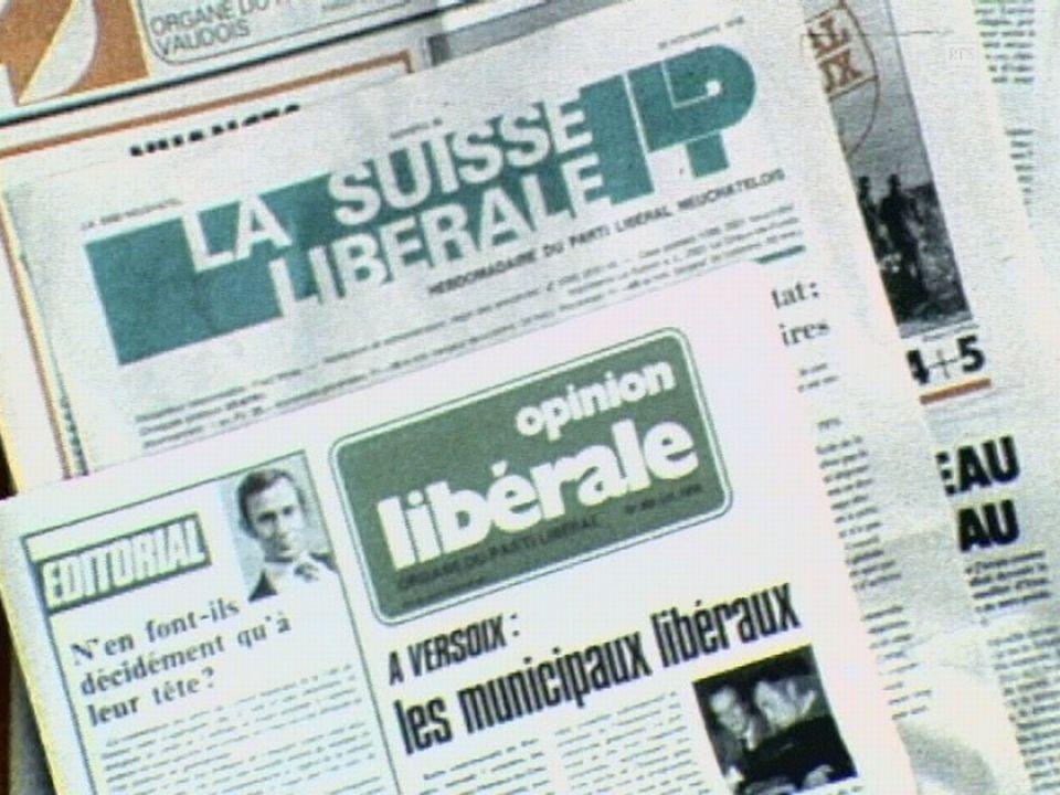 Les valeurs libérales [RTS]