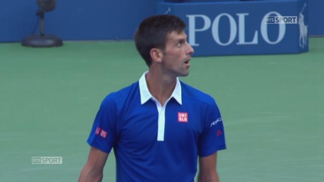 1er tour, Djokovic-Souza (6-1, 6-1, 6-1): Djokovic atomise Souza et se qualifie facilement pour le 2e tour [RTS]