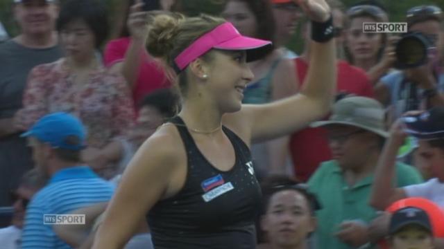 1er tour, Bencic-Karatantcheva (6-1, 6-2): Belinda Bencic se qualifie pour le 2e tour en 57mne [RTS]