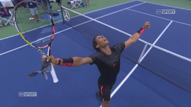 1er tour, Nadal-Coric (6-3, 6-2, 4-6, 6-4): Rafael Nadal se qualifie pour le deuxième tour en battant Borna Coric en quatre manches. [RTS]