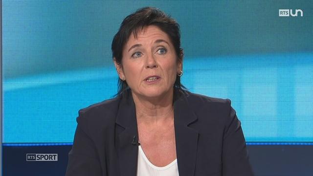 Tennis: Christiane Jolissaint commente ces différentes chances suisses [RTS]