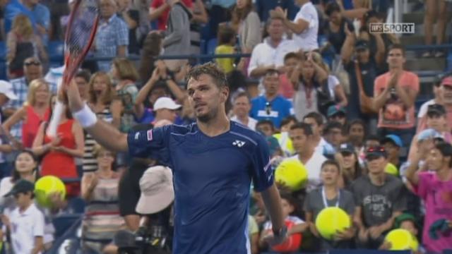 1er tour. Stan Wawrinka (SUI-5) - Albert Ramos-Viñolas (ESP) (7-5 6-4 7-6). L'Espagnol perd finalement la 3e manche au tie-break, et le match [RTS]