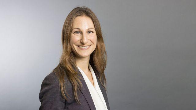 Adèle Thorens, coprésidente des Verts. [Christian Beutler - Keystone]