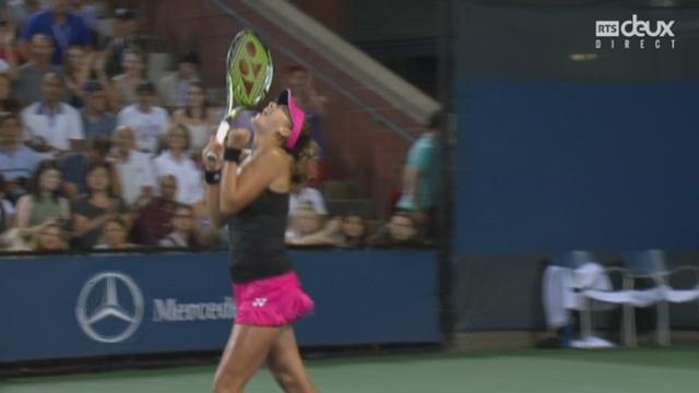 2e tour: Belinda Bencic (SUI-12) - Misaki Doi (JPN) (5-7 7-6 6-3). La Suissesse revient de loin, mais se qualifie [RTS]