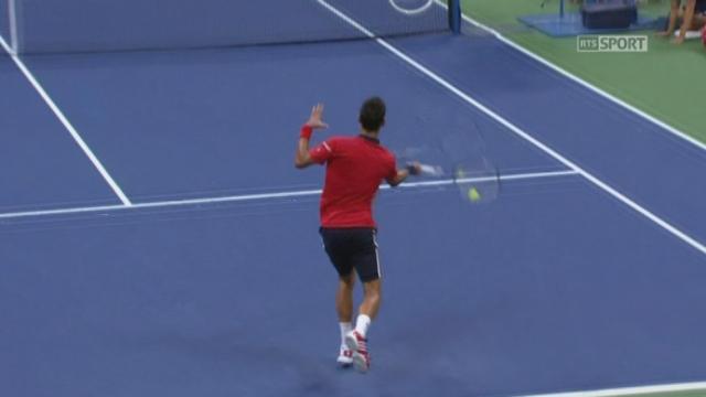 2e tour: Novak Djokovic (SRB-1) - Andreas Haider-Maurer (AUT) (6-4 6-1). [RTS]
