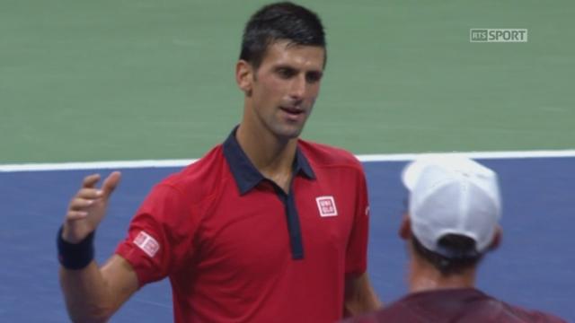 2e tour: Novak Djokovic (SRB-1) - Andreas Haider-Maurer (AUT) (6-4 6-1 6-2). [RTS]