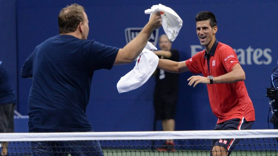 US Open : Quand Novak Djokovic dance avec un fan