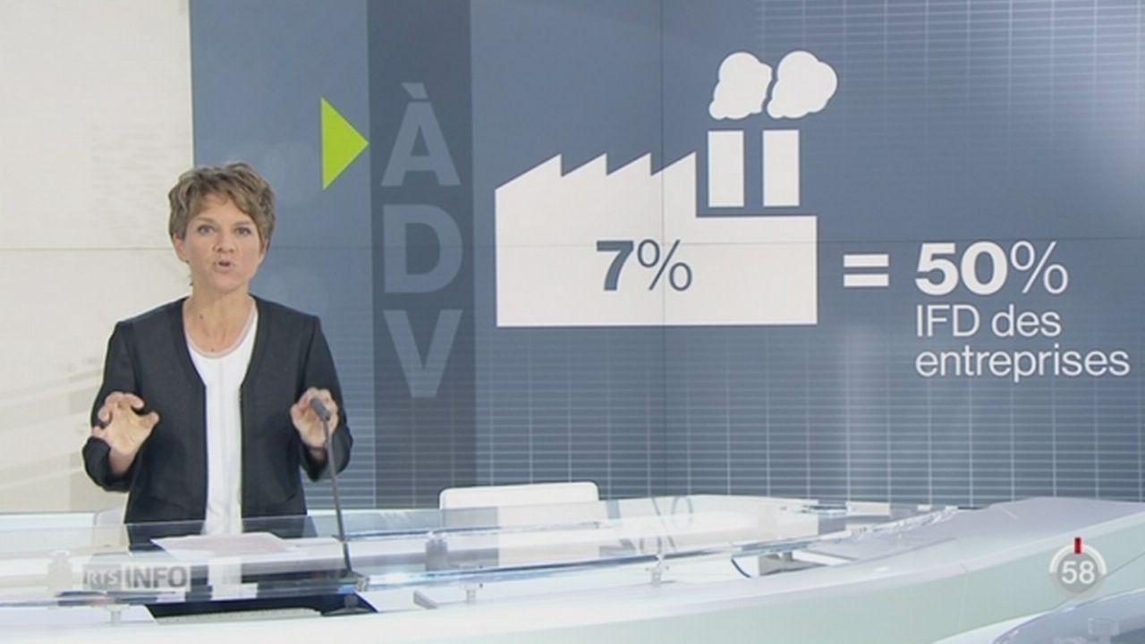 A dire vrai: le fisc a été indulgent envers les sociétés du PLR Schneider-Ammann [RTS]