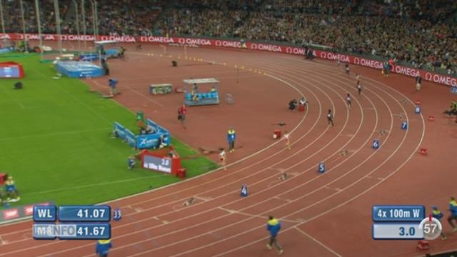 Athlétisme - Weltklasse de Zurich: Lea Sprunger fait ses adieux au relais 4x100 mètres [RTS]