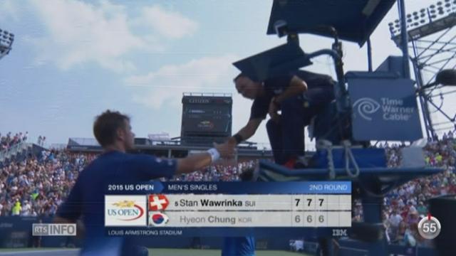 Tennis - US Open: Federer et Wawrinka seront présents au 3e tour de la compétition [RTS]