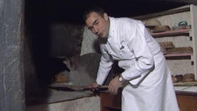 Bernard Ravet à l'Hermitage en 1993. [RTS]