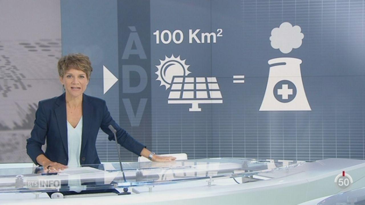 A dire vrai: vérification des propos d'Anne Mahrer et de Daniel Brélaz du Parti écologiste suisse dans l'émission Face aux Partis [RTS]