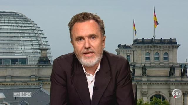 Crise migratoire: l'interview de David Philippot depuis Berlin [RTS]
