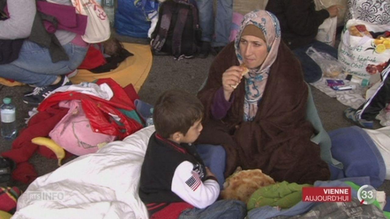 Des milliers de migrants sont parvenus à la fin de leur périple en Allemagne [RTS]