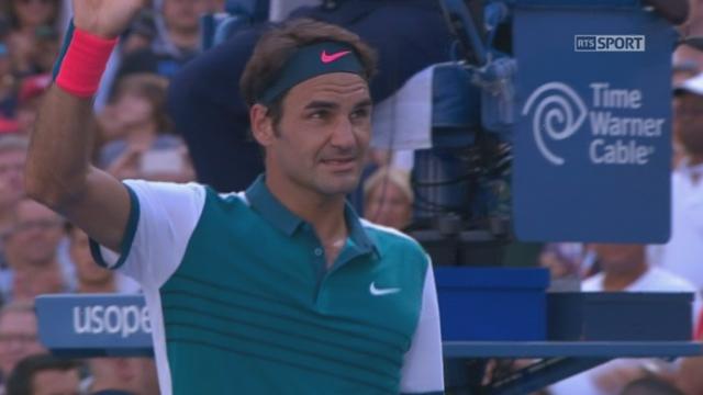 3e tour: Philipp Kohlschreiber (GER-29) - Roger Federer (SUI-2) (3-6 4-6 4-6). Le Suisse expédie le dernier jeu [RTS]
