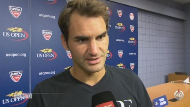 Tennis - US Open: Federer et Wawrinka se qualifient pour les huitièmes de finale [RTS]