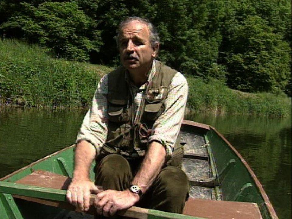 Michel Gaidy, pêcheur à la mouche. [RTS]