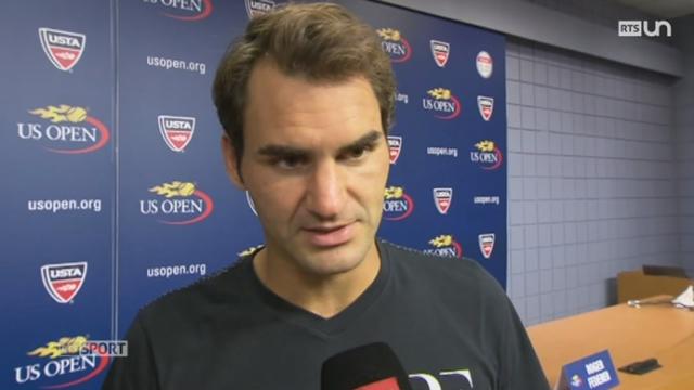 Tennis - US Open: Roger Federer se qualifie pour les 1-8 de finale [RTS]