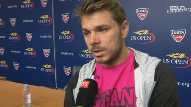 Tennis - US Open: Stan Wawrinka remporte son ticket pour les 8e de finale [RTS]